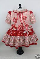 Oilily Girls Toddler Pretty Boutique Ruffles Floral/Dots Dress Kids 2 to 3 T