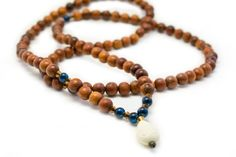 Bayong Wood Mala Beads