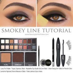 Smokey Line Makeup Tutorial