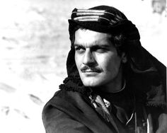 Omar Shariff in Lawrence of Arabia