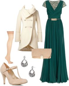 """Winter Ball"" by cat-90 on Polyvore"