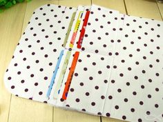 Accordion Clutch Wallet Purse Tutorial sewing pattern. Craft Sewing Bags Wallets