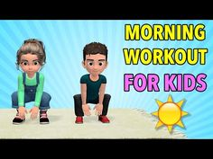 Morning Kids Workout: Wake Up Exercises Physical Activities For Kids, Pe Activities, Gross Motor Activities, Movement Activities, Physical Education Games, Kids Education, Elderly Activities, Dementia Activities, Character Education