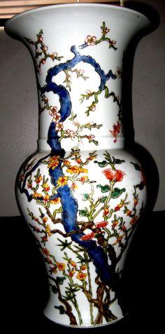 Antique Rare Chinese Qing Dynasty Famille Rose Porcelain Vase.Yongzheng Mark,NR