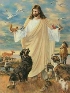 All animals.. anything with energy and a spirit.. I believe does go to Heaven!
