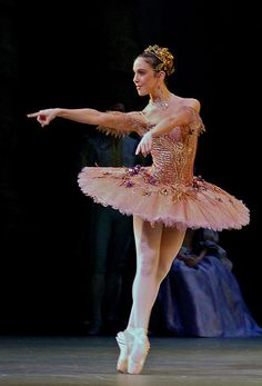 Laura Morera as the Fairy of the Enchanted Garden in the Royal Ballet's 'Sleeping Beauty'.