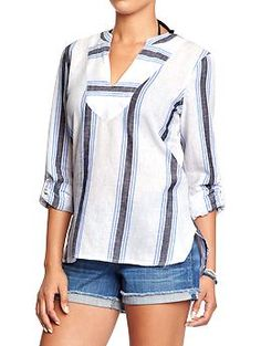 Striped Tunic   Old Navy