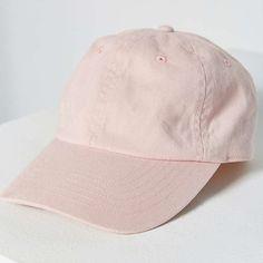 7ed09c13f09 Urban outfitters pink canvas baseball hat Women s pink baseball hat Urban  Outfitters Accessories Hats Girls Baseball