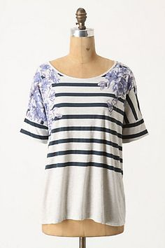 Matilija Tee... i find it hard to resist a breton stripe anyway but this is gorgeous!