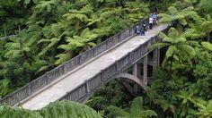 Bridge to nowhere / New Zealand