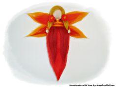 Blumen- Elfe von Maschenlädchen auf DaWanda.com