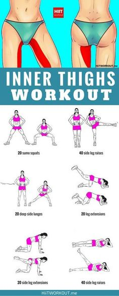 Inner leg workout to do at home or at the gym. – Jess D Inner leg workout to do at home or at the gym. Inner leg workout to do at home or at the gym. Fitness Workouts, Inner Leg Workouts, Easy Workouts, At Home Workouts, Inner Thight Workout, Workout Routines, Workout Exercises, Leg Workout At Home, Slim Thigh Workouts