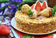 With love, taste and beauty... : Клубничный торт (Strawberry cake)