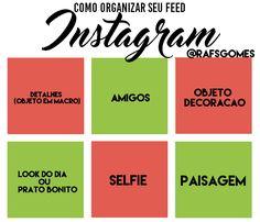 como organizar meu feed no instagram?