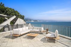 Vail outdoor collection in teak and fabric Outdoor Sectional, Sectional Sofa, Outdoor Furniture, Outdoor Decor, Fabric, Home Decor, Collection, Products, Lounge Furniture