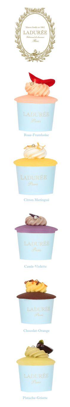 Cupcakes Ladurée