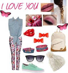 """LOVE"" by anavictoria-de-styles-pirela ❤ liked on Polyvore"