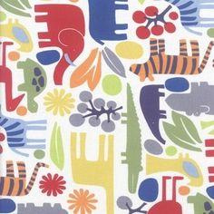 Alexander Henry House Designer - Classics - 2D Zoo in Multi