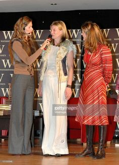 Trinny Woodall guest and Susannah Constantine during Trinny and Susannah's 'What Not to Wear'...