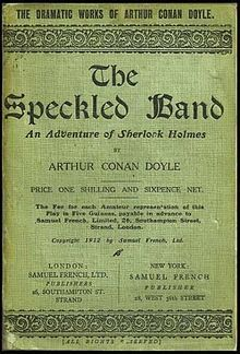 The Adventure of the Speckled Band. Read 2016