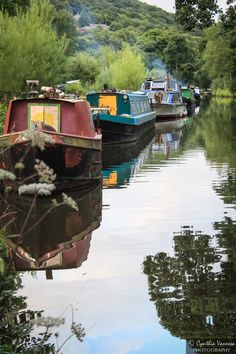 #Hebden Canal, #Yorkshire, England