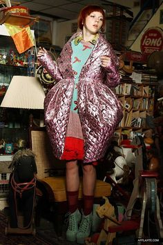 'Peek a Boo!' Fashion Collection // Lilach Eliyahu | Afflante.com