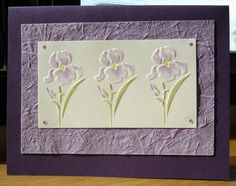 Greeting Cards - Dry embossing