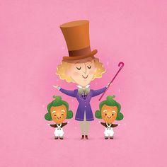 Willy Wonka by Jerrod Maruyama, via Flickr