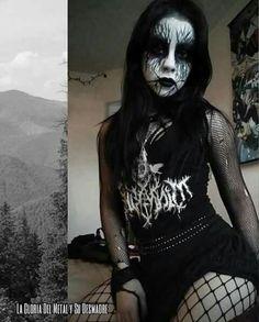 Metal Girl, Black Metal, Goth, Funny, Style, Fashion, Gothic, Swag, Moda
