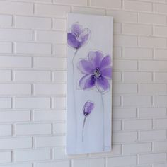 Contemporary Mix Media Painting _Verpurple_30 x 90 BY K RULES ENTERPRISE | Shoppertise Online Shopping - Malaysia