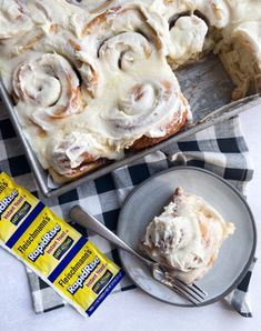 The BEST Easy Homemade Cinnamon Rolls - The OMG Easiest and BEST Cinnamon Rolls Recipe EVER! These gooey cinnamon rolls are made with insta - Best Cinnamon Roll Recipe, No Yeast Cinnamon Rolls, Cinnamon Rolls From Scratch, Cinnamon Roll Dough, Cinnamon Sticks, Pioneer Woman Cinnamon Rolls, Instant Yeast, Rise Time, Rolls Recipe