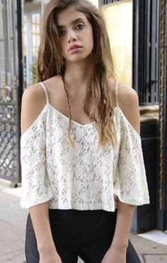 Isabel first chapter Summer Outfits, Casual Outfits, Cute Outfits, Fashion Outfits, Womens Fashion, Cropped Tank Top, Crop Tops, Casual Looks, My Style
