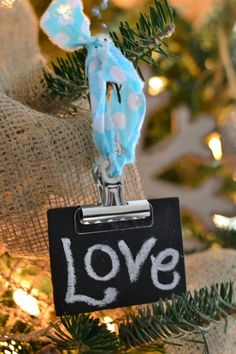 Christmas Tree DIY decoration