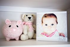 Little Red Wagon Photography: DIY Modern Baby Books