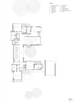 Three Trees House,First Floor Plan