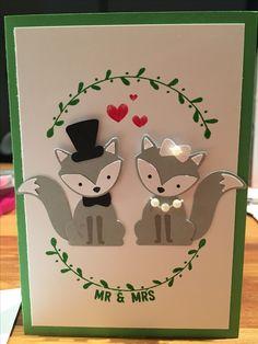 Foxy friends wedding