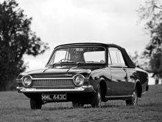 Ford Corsair V4 GT Crayford Convertible '1966–68