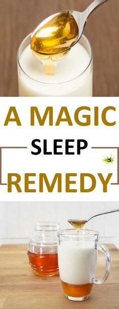 If you have problems with insomnia this remedy is ideal for you. It is made of milk and honey and it is one of the best traditional remedies for sleep. #recipe #magic #sleep
