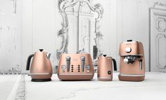 Have you Seen the New DeLonghi Copper Kitchen Appliances?,DeLonghi Distinta Copper Kitchen Appliances Little home appliances which make your everyday life simpler Small home devices can perform everything: Mi. Outdoor Kitchen Design, Kitchen Decor, Outdoor Kitchens, Copper Kitchen Accessories, Rose Gold Decor, Cocinas Kitchen, Basic Kitchen, Kitchen Black, Updated Kitchen