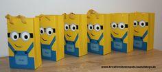 Minions-Geschenktüten, Stampin up