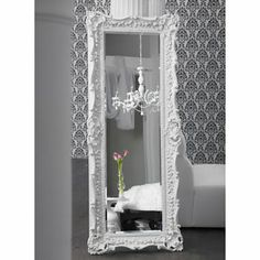 Glamorous Dressing Room | big bold borderline scary from the old french mirror co