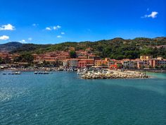 """The idyllic island of Elba floats just six miles from the coast of Tuscany. The island made headlines by launching its """"Elba No Rain"""" initiative. Four Restaurant, Wild Flower Meadow, Romantic Breaks, Old Churches, Tuscan Style, Romantic Getaway, Italy Travel, Italy Trip, Best Hotels"""
