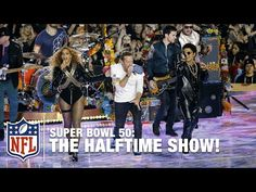 Check out the entire Super Bowl 50 Halftime Show, starring Coldplay, Beyonce and Bruno Mars, ending with an amazing homage to former Super Bowl Halftime show...
