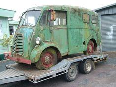 Morris J Type Reconstruction - Metal Meet Forums Classic Cars British, Classic Trucks, Vintage Vans, Vintage Trucks, Cool Trucks, Cool Cars, Hy Citroen, Best Small Rv, Ww2 Fighter Planes