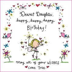 Dearest daughter..happy birthday!