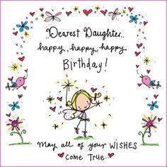 Dearest daughter..happy birthday!