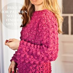 Instant download  Crochet cardigan PATTERN pdf by monpetitviolon, $4.99