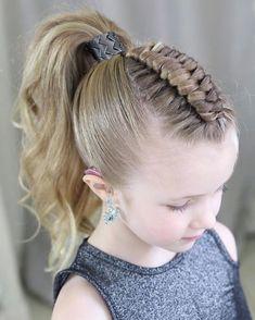 Chic Hairstyles, Braided Hairstyles Tutorials, Little Girl Hairstyles, School Hairstyles, Updo Hairstyle, Everyday Hairstyles, Wedding Hairstyles, Hair Tutorials, Video Tutorials