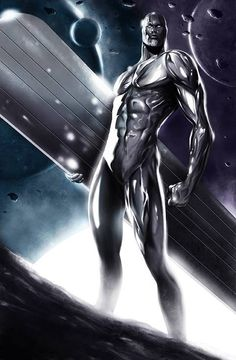 Silver Surfer by Max Moda