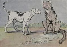Read the story The Dog and the Wolf completed with online quiz! | ThousandsIdeas.Com, Where Ideas Never Come to an End